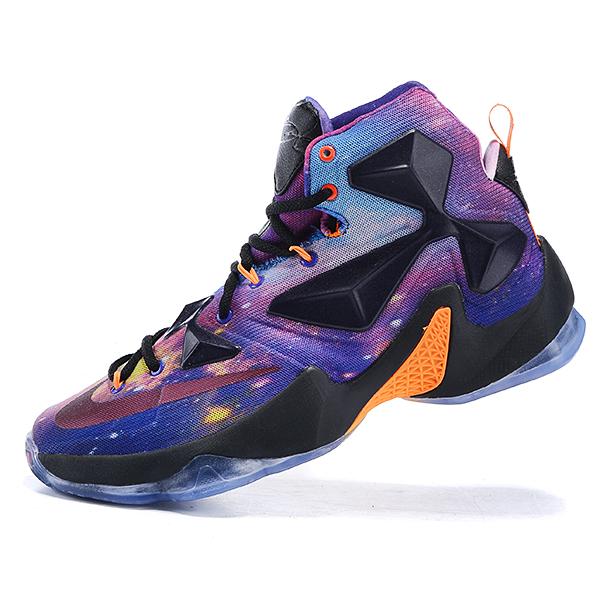 6184a0ec7fa320 Lebron James Galaxy Shoes